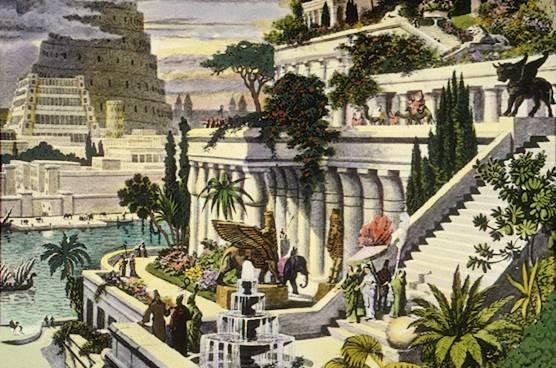 バビロン空中庭園